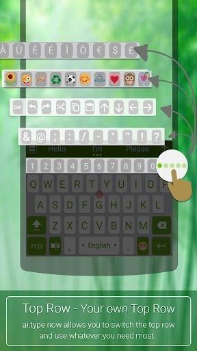 Скриншот Клавиатура ai.type ПЛЮС для Андроид