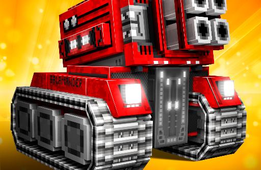 Blocky Cars Online для Андроид скачать бесплатно