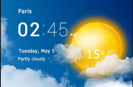 Прозрачные часы и погода Pro для Андроид скачать бесплатно