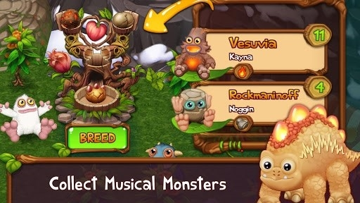My Singing Monsters: Dawn of Fire для Android