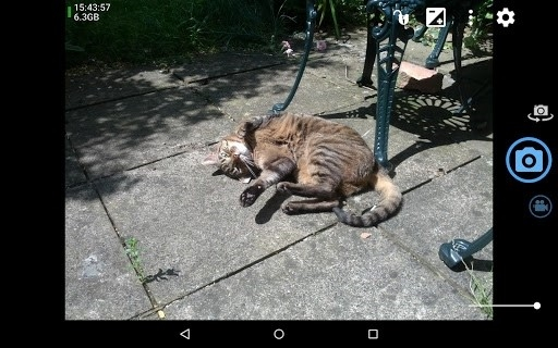 Скриншот Open Camera для Андроид