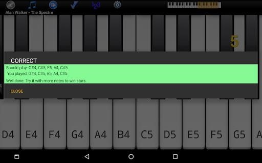 Скриншот Piano Melody Pro для Андроид