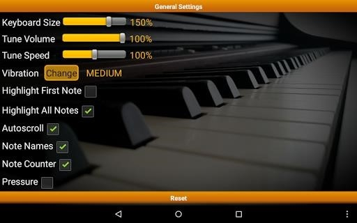 Приложение Piano Melody Pro для Андроид