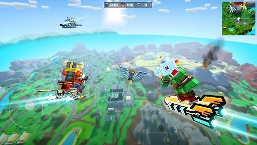 Скриншот Pixel Gun 3D для Андроид