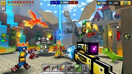 Приложение Pixel Gun 3D для Андроид