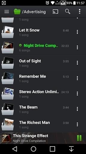 Приложение PlayerPro Music Player для Андроид