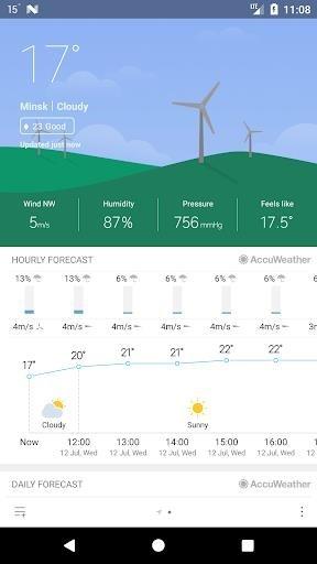 Погода M8 для Андроид