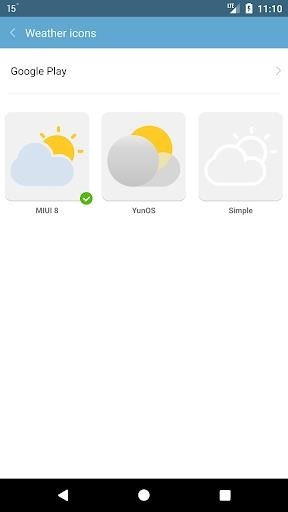 Погода M8 для Android