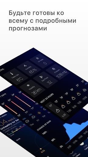 Скриншот Погода — Weather Premium для Андроид