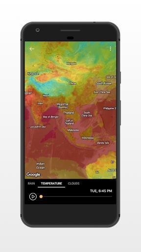 Приложение Погода — Weather Premium для Андроид