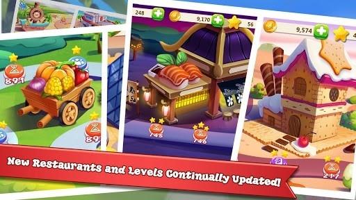 Скриншот Rising Super Chef 2: игра о приготовлении пищи для Андроид