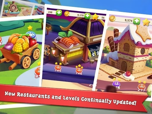 Rising Super Chef 2: игра о приготовлении пищи для Android