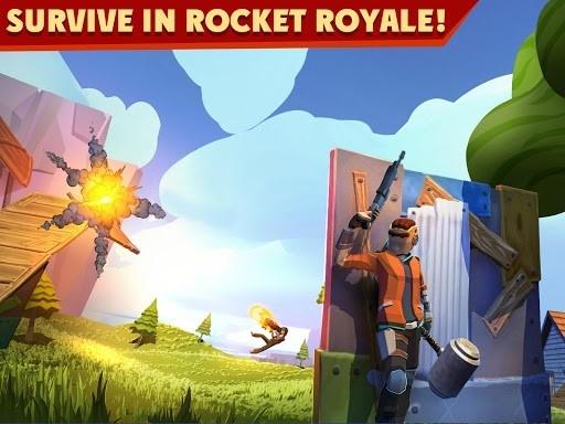 Rocket Royale для Android