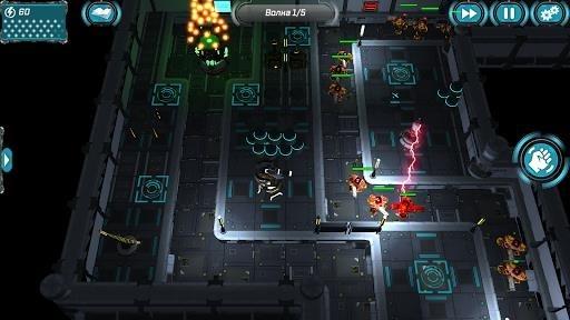 Скриншот Sci Fi Tower Defense. Module TD 2 для Андроид