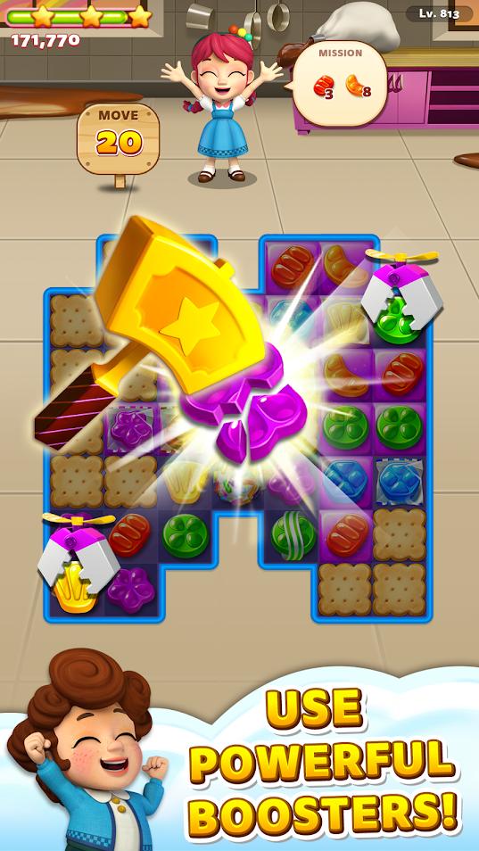 Скриншот Sweet Road – Cookie Rescue для Андроид