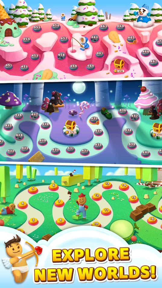 Приложение Sweet Road – Cookie Rescue для Андроид