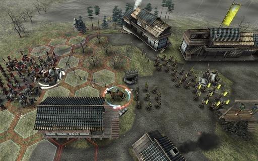 Приложение Shogun's Empire: Hex Commander для Андроид