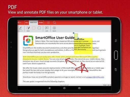 Скриншот SmartOffice для Андроид