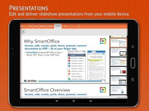 Приложение SmartOffice для Андроид