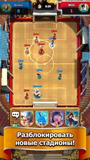 Soccer Royale 2019 — Лучшая PvP футбольная игра! для Android