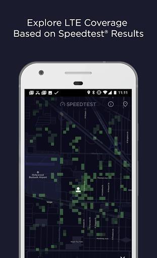 Скриншот Speedtest.net для Андроид