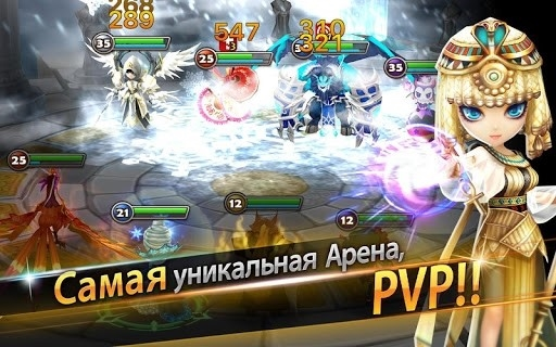 Скриншот Summoners War для Андроид