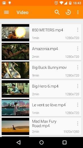 Приложение VLC для Андроид