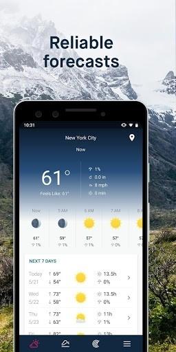 WeatherPro для Android