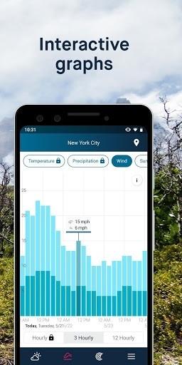 Приложение WeatherPro для Андроид