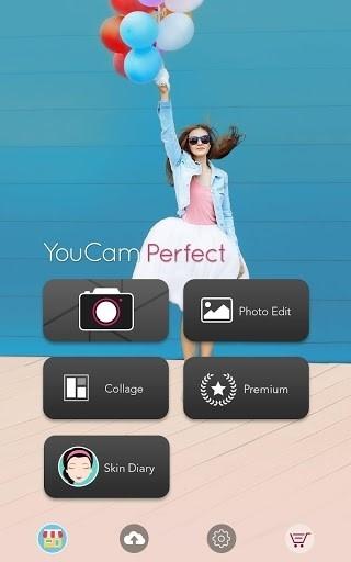 YouCam Perfect- фоторедактор & селфи-камера для Андроид