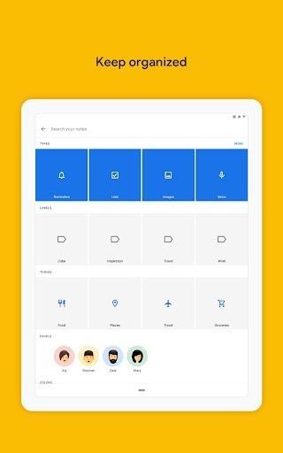 Заметки Google Keep для Андроид