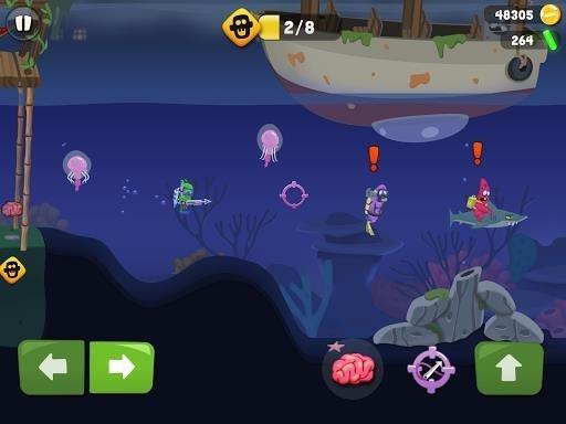 Скриншот Zombie Catch для Андроид