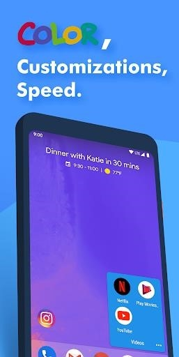 Скриншот Action Launcher для Андроид