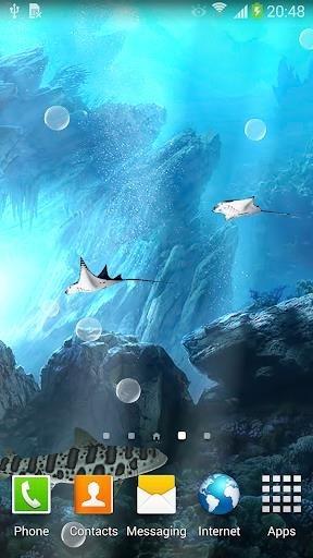 Приложение Акулы 3D — Живые обои для Андроид