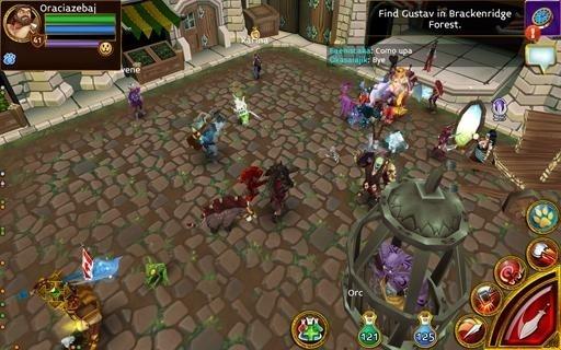 Скриншот Arcane Legends для Андроид