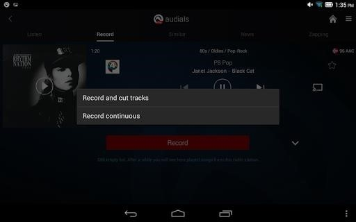 Скриншот Audials для Андроид