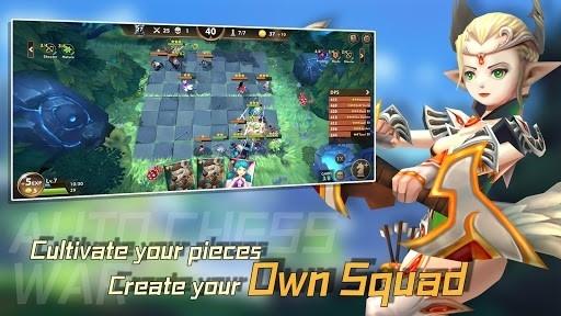 Приложение Auto Chess War для Андроид
