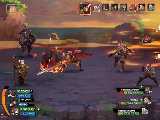 Battle Chasers: Nightwar для Android