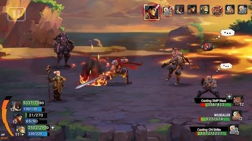Приложение Battle Chasers: Nightwar для Андроид