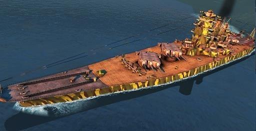 Скриншот Battle of Warships: Naval Blitz для Андроид