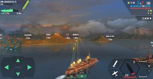 Battle of Warships: Naval Blitz для Android