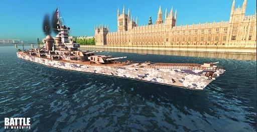 Приложение Battle of Warships: Naval Blitz для Андроид