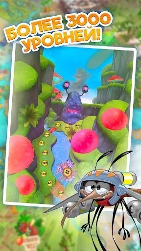 Скриншот Best Fiends — Бесплатная игра-головоломка для Андроид