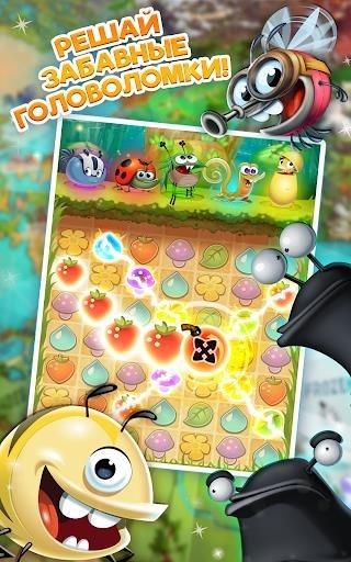 Best Fiends — Бесплатная игра-головоломка для Андроид