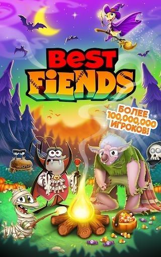 Best Fiends — Бесплатная игра-головоломка для Android