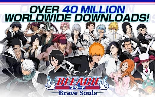 Приложение BLEACH Brave Souls для Андроид
