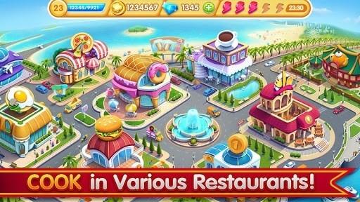 Скриншот Cooking City для Андроид