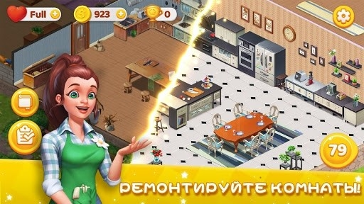 Скриншот Decor Dream: Home Design Game and Match-3 для Андроид