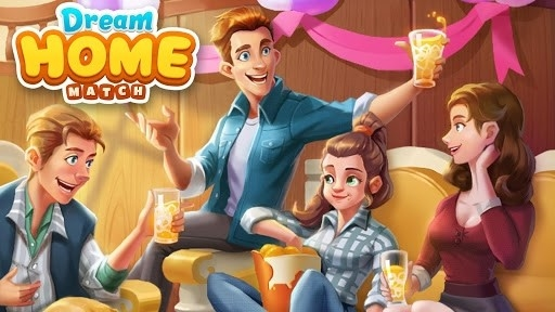 Decor Dream: Home Design Game and Match-3 для Android