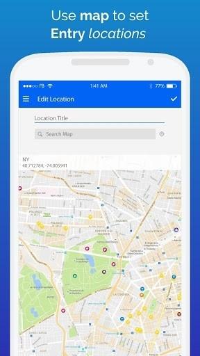 Скриншот Diaro — личный дневник для Андроид
